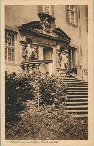Höxter (Weser) Schloß Corvey a.d. Weser Garten-Portal, Castle Postcard 1925