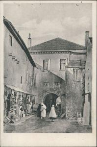 Trebinje (Trebing) Tpeбињe Trebinje Prolaz u stari grad/Durchgang  1940