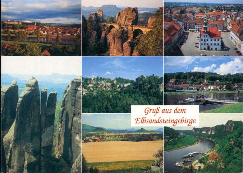 Pirna Elbsandsteingebirge, Dreifingerturm Wolfsberg, Rathen, Pirna 1999