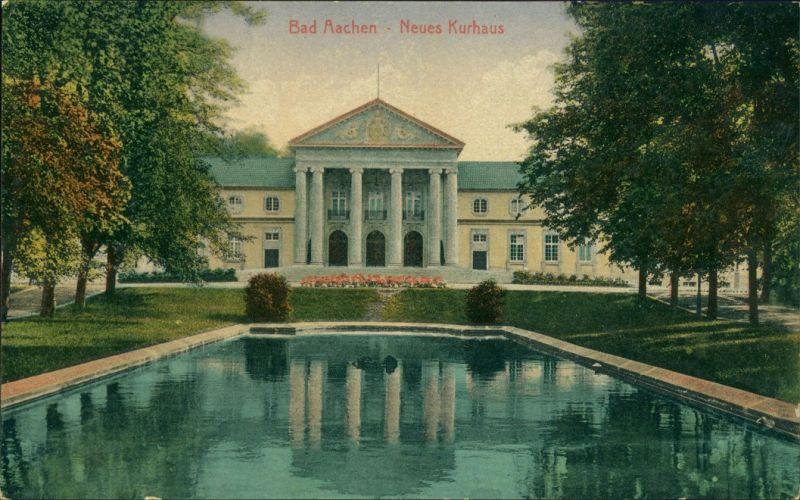Ansichtskarte Aachen Neues Kurhaus 1913
