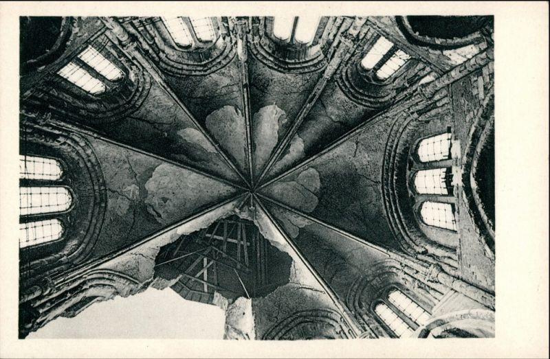 Ansichtskarte Köln St. Gereon Kirche - Kuppel - Blick in den Dachstuhl 1928