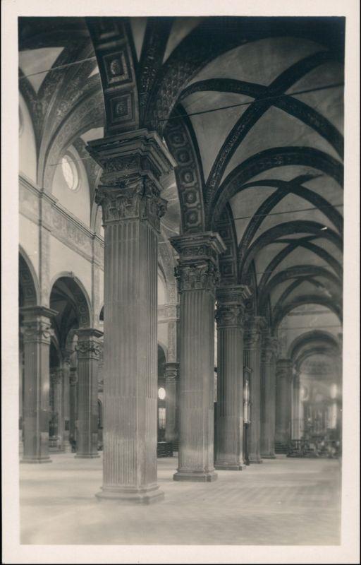 Cartoline Parma Interno di S. Giovanni 1929