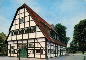 Münster (Westfalen) Partie am Hotel Restaurant THIER-HÜLSMANN M.-Wolbeck 1975