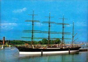 Travemünde-Lübeck Segelschiff Schiff PASSAT Hafen Anlegestelle Travemünde 1975
