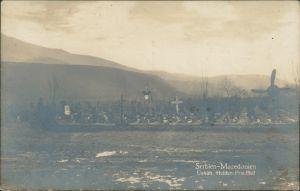 Postcard Skopje Скопје   Üsküp Soldaten Friedhof WK1 1916