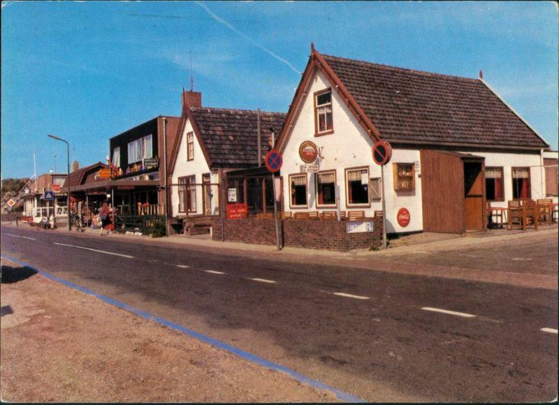 Postkaart Callantsoog-Schagen Dorpsplein 1977