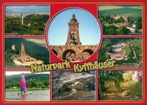 Kelbra (Kyffhäuser) Naturpark Kyffhäuser mit Denkmal, Kelbra  2000