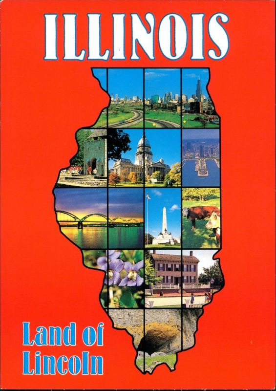 Illinois (US-Bundesstaat) Bundesstaat Illinois Land of Lincoln div. Ansichten 2000