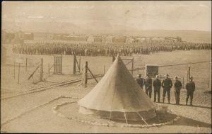 Ansichtskarte  Kriegsgefangenenlager Afrika Africa Kolonie 1909