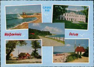 Weißenhaus Mehrbild-Grusskarte Weißenhaus Ostsee 5 Ansichten 1966
