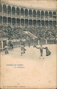 Ansichtskarte  Stierkampf Corrida de Toros el Chicuelo 1909