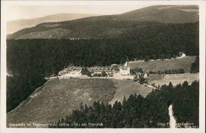 Ansichtskarte Gehlberg Luftbild Schmücke-Thüringer Wald 1932