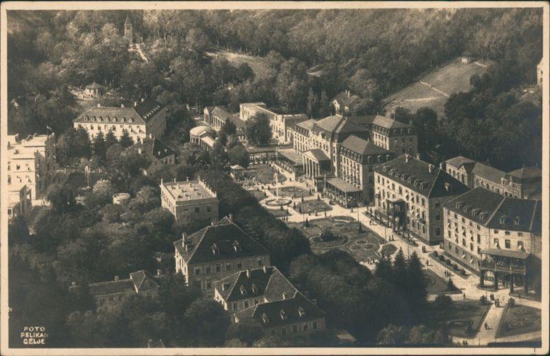 Postcard Cilli Celje Luftbild 1930