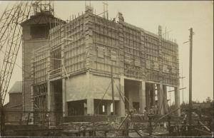 Menschen Soziales Leben Arbeiter auf Baustelle Bauarbeiter 1940 Privatfoto