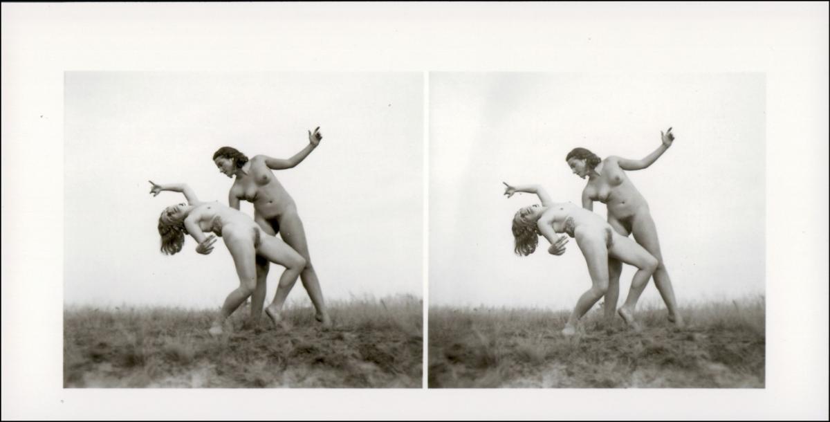 Erotik (Nackt - Nude) 2 Frauen nackt Nude Stereo tanz 1999 REPRO