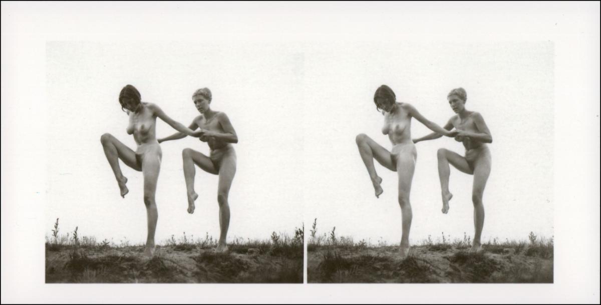 Erotik (Nackt - Nude) nackt Nude Stereo 2 Frauen gang 1999 REPRO