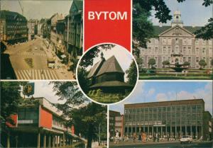Beuthen O.S. Bytom   Beuthn Plac Kościuszki Urząd Miejski, Kościół   1981