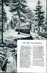 Schönfeld - Weißig-Dresden Sage vom Borsberg (Region Pillnitz Dresden) 1936