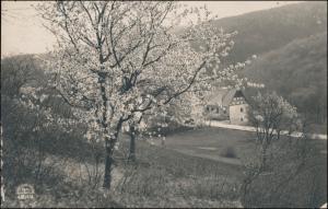 Ansichtskarte  Stimmungsbild Frühling Dorf Haus (Ort unbekannt) 1921