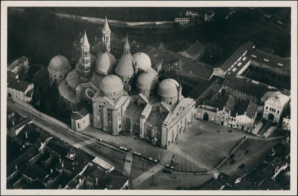 Cartoline Padua Padova Luftbild 1928