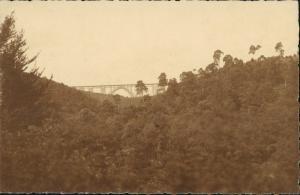 Fotokunst Echtfoto Brücke, Viadukt (Ort unbekannt) 1930 Privatfoto