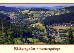 Ansichtskarte Rittersgrün-Breitenbrunn (Erzgebirge) Blick vom Taubenfels 2010