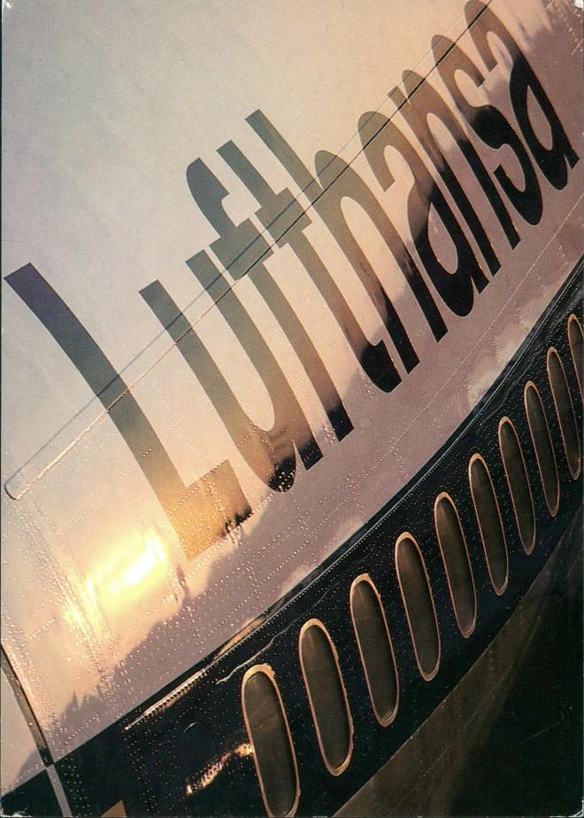Ansichtskarte  Flugzeuge - Boeing Lufthansa Flugzeug Airplane Avion 2002
