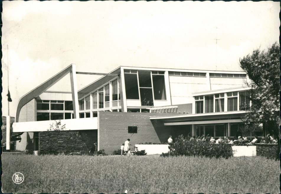 Postkaart Vosseslag-De Haan De Blekkaard, Vosseslag, Klemskerke 1963