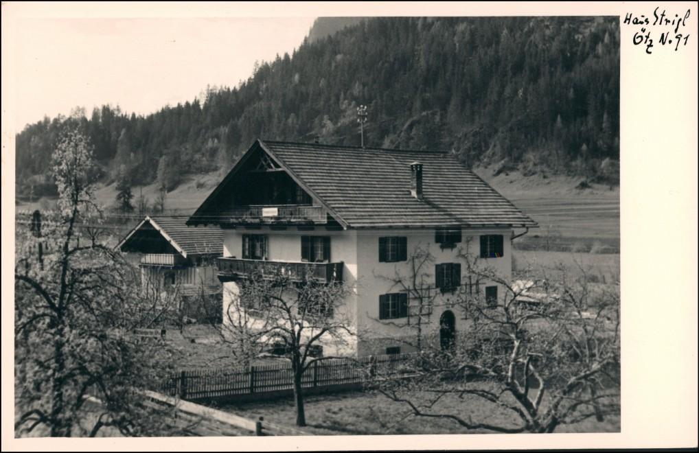 Foto Oetz Ötz Tirol Haus Strigl 1930 Privatfoto