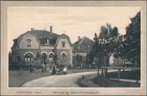 Ansichtskarte Fürstenau (LK Osnabrück) Settrup Hollensteder Straße 1918