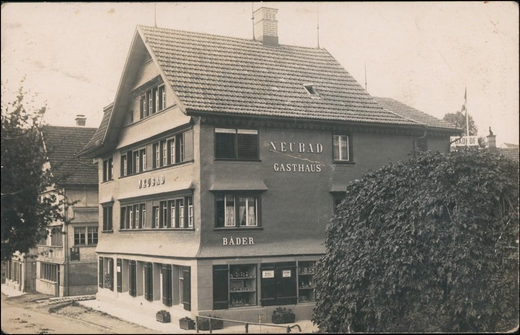 Ansichtskarte Heiden AR Gasthaus Neubad Straße 1927
