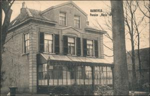 Postkaart Barneveld Pension Mario 1915