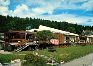 Le Chalet-à-Gobet MOTEL VERT-BOIS Restaurant Snack-Bar, Lausanne 1974