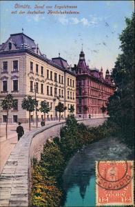 Postcard Olmütz Olomouc Josef von Engelstrasse 1912
