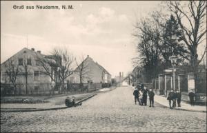 Postcard Neudamm (Neumark) Dębno Friedenstraße 1912
