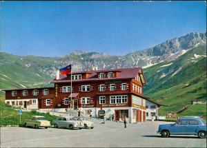 Triesenberg Alpen-Hotel Malbun, Auto Autos ua. Mercedes Benz 1965