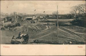 .Russland Rußland Россия Тіѣлинъ Tielin Straße 1915