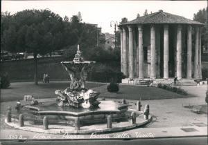 Cartoline Rom Roma Piazza Bocca della Verita 1962