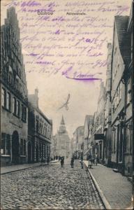 Ansichtskarte Güstrow Mühlenstraße 1913
