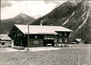 Kleinwalsertal-Mittelberg Walsertalhaus der Naturfreunde Mittelberg-Bödmen 1960