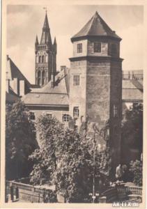 Königsberg (Ostpreußen) Калининград Schloß - Teilansicht - Foto AK 1935