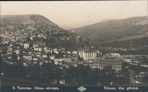 Weliko Tarnowo Велико Търново Blick auf die Stadt - Totale 1928