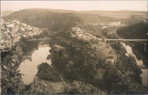 Weliko Tarnowo Велико Търново Stadt und Brücken Foto Ansichtskarte 1928
