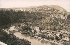 Weliko Tarnowo Велико Търново Blick auf die Stadt Foto Ansichtskarte  1928