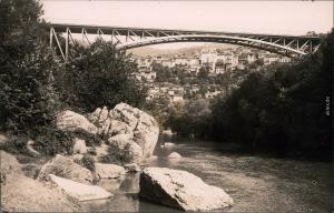 Weliko Tarnowo Велико Търново Stadt  Brücke Foto Ansichtskarte Postcard 1928