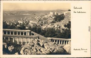 Sebenico Šibenik Blick über die  Šibensko-kninska županija : Hrvatska  1930