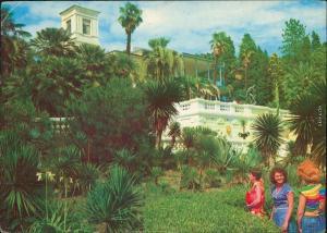 Sotschi Сочи  სოჭი - Дендрарий/Arboretum - botanischer Garten mit Villa 1983