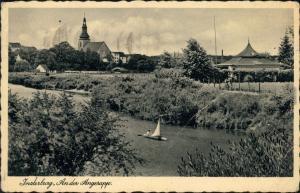 Insterburg Tschernjachowsk (Черняховск) An der Angerapp - Pavillon 1936