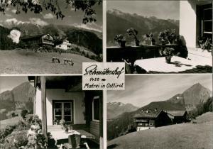 Matrei in Osttirol Umlandansichten Schmutzerhof auf 1450 Meter Höhe 1960