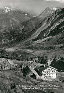 Vent-Sölden (Ötztal) Berggasthof Gasthof Rofenhof b. Vent Ötztal Tirol 1965